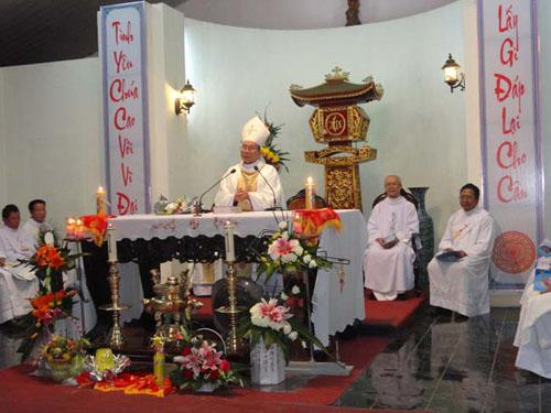 Lễ kính Đức Mẹ Vô Nhiễm tại Thánh Địa La Vang