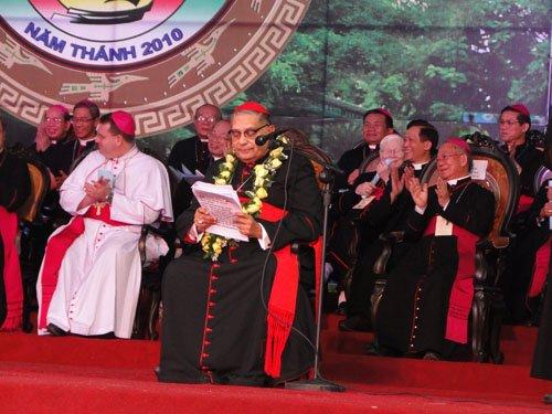 Lễ Bế Mạc Năm Thánh 2010 và Đại Hội La Vang 29 – Diễn văn của Đức Hồng Y Ivan Dias, Đặc sứ của Đức Thánh Cha Bênêđictô XVI
