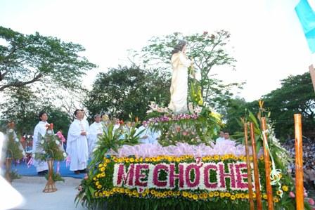 Hình ảnh Đại hội Đức Mẹ Trà Kiệu 2010