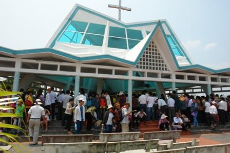 Đại Hội Hành Hương Đức Mẹ Trà Kiệu 2011