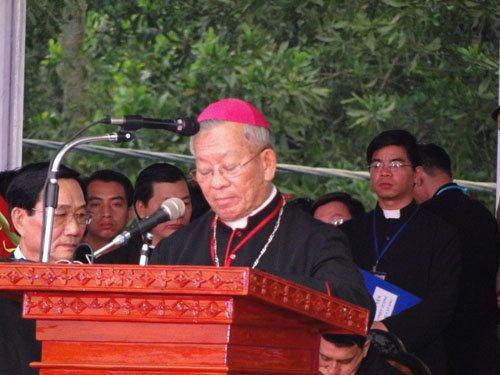 Lễ Bế Mạc Năm Thánh 2010 và Đại Hội La Vang 29 – Diễn văn chào mừng của Đức Tổng Giám Mục Phêrô Nguyễn Văn Nhơn