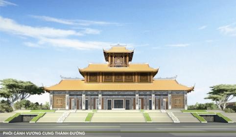 Đồ án thiết kế Trung tâm Hành hương Đức Mẹ La Vang