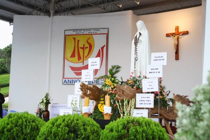 Giáo Xứ Chánh Tòa Giáo Phận Bà Rịa- Vũng Tàu Hành Hương Tại Linh Địa Tàpao