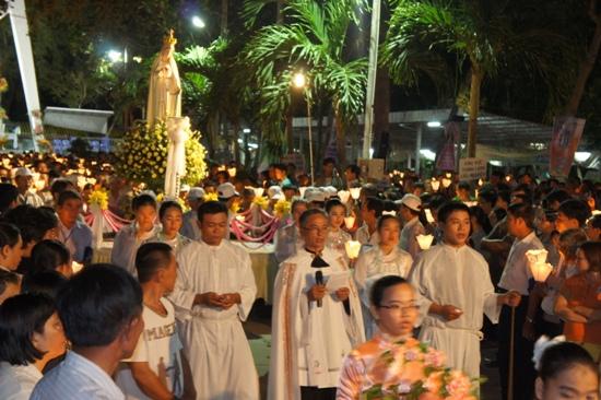 Hành hương Đức Mẹ Fatima Vĩnh Long 13/05/2007