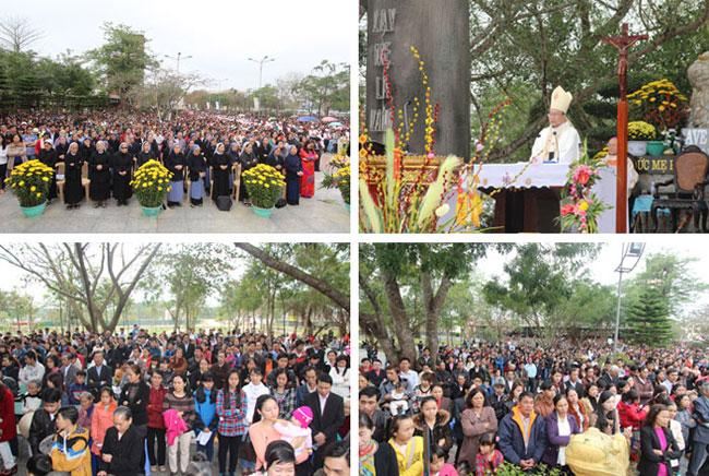Hành hương Mẹ La Vang: Giáo xứ Chính Tòa Phủ Cam Chầu Thánh Thể tại La Vang từ ngày 06.02.2014 – 18.02.2014
