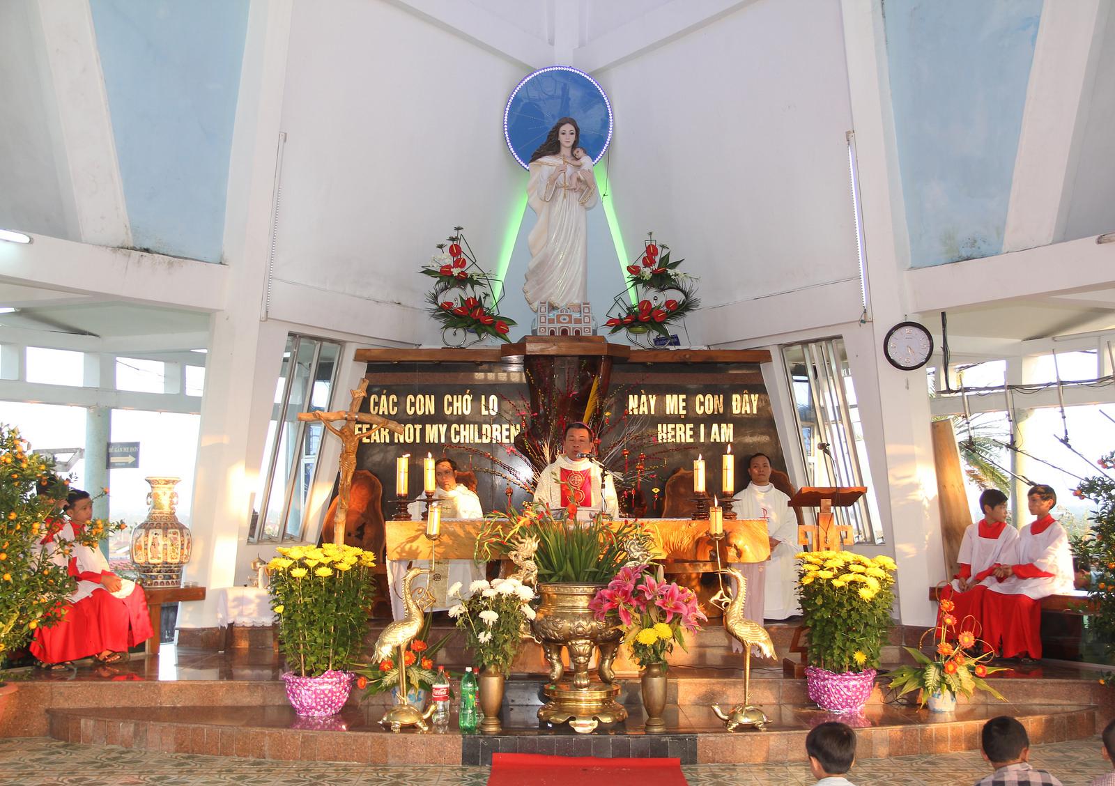 TTHH Mẹ Trà Kiệu: Thánh lễ Mùng 2 Tết Giáp Ngọ – 2014