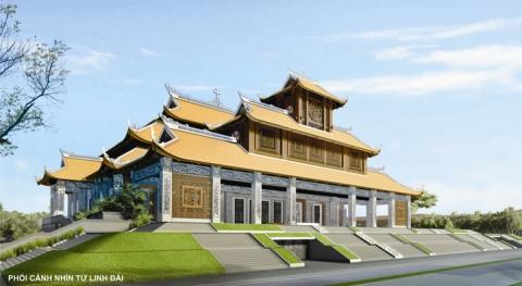 Tình hình xây dựng Vương Cung Thánh Đường Đức Mẹ La Vang (10.2013)