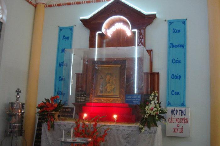 Khai mạc Năm Thánh tại đền Đức Mẹ La Mã Bến Tre